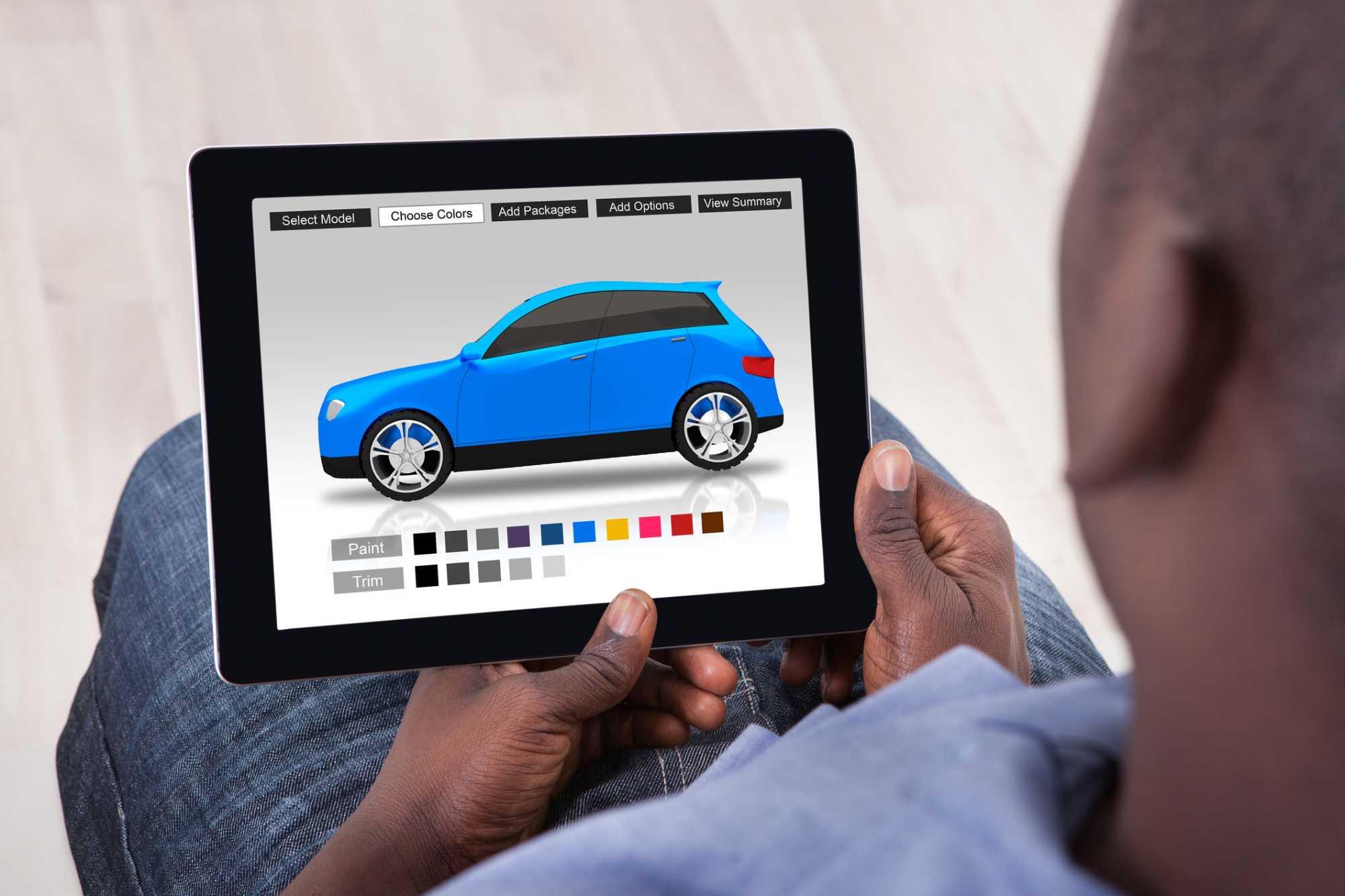 comprar carro na internet